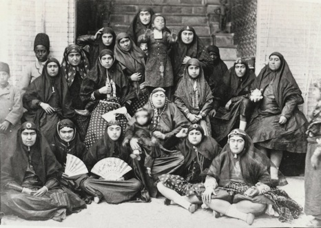 Nasseredin Shah and his 84 wives