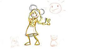 Drifa Benseghir: sketch